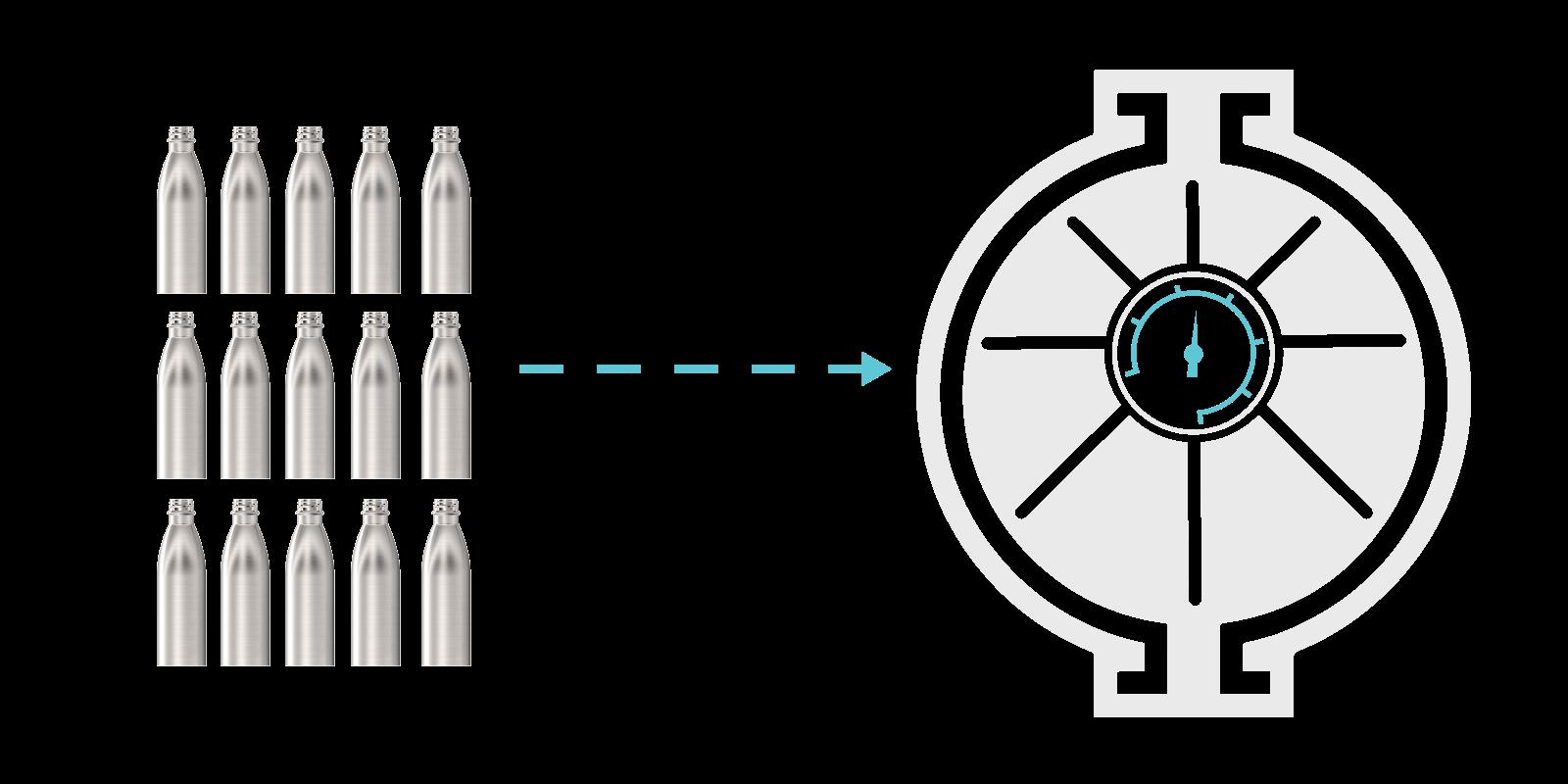 Comment nous fabriquons nos Gourdes en Métal - Step5