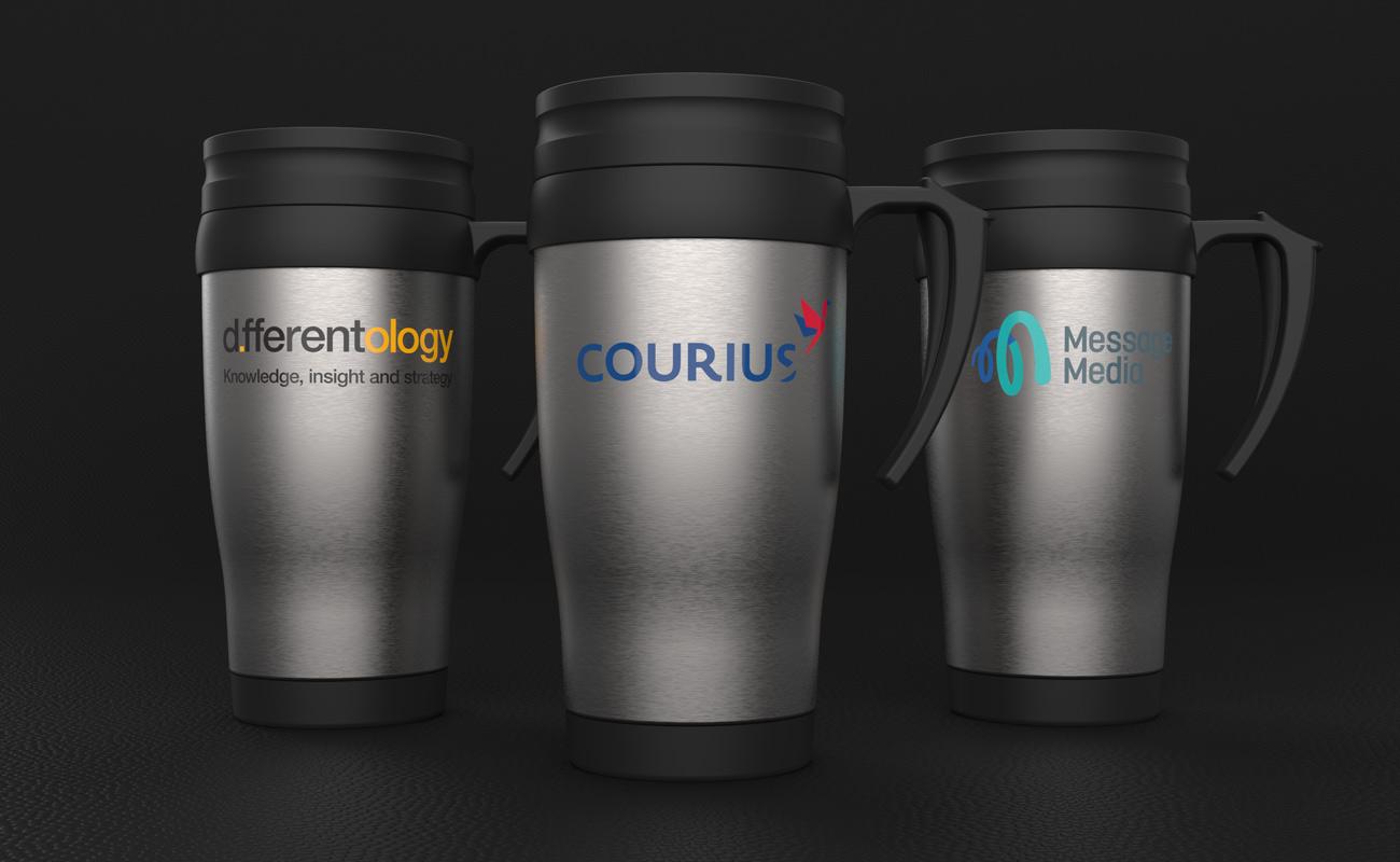 Thermo - Mugs de voyage personnalisés