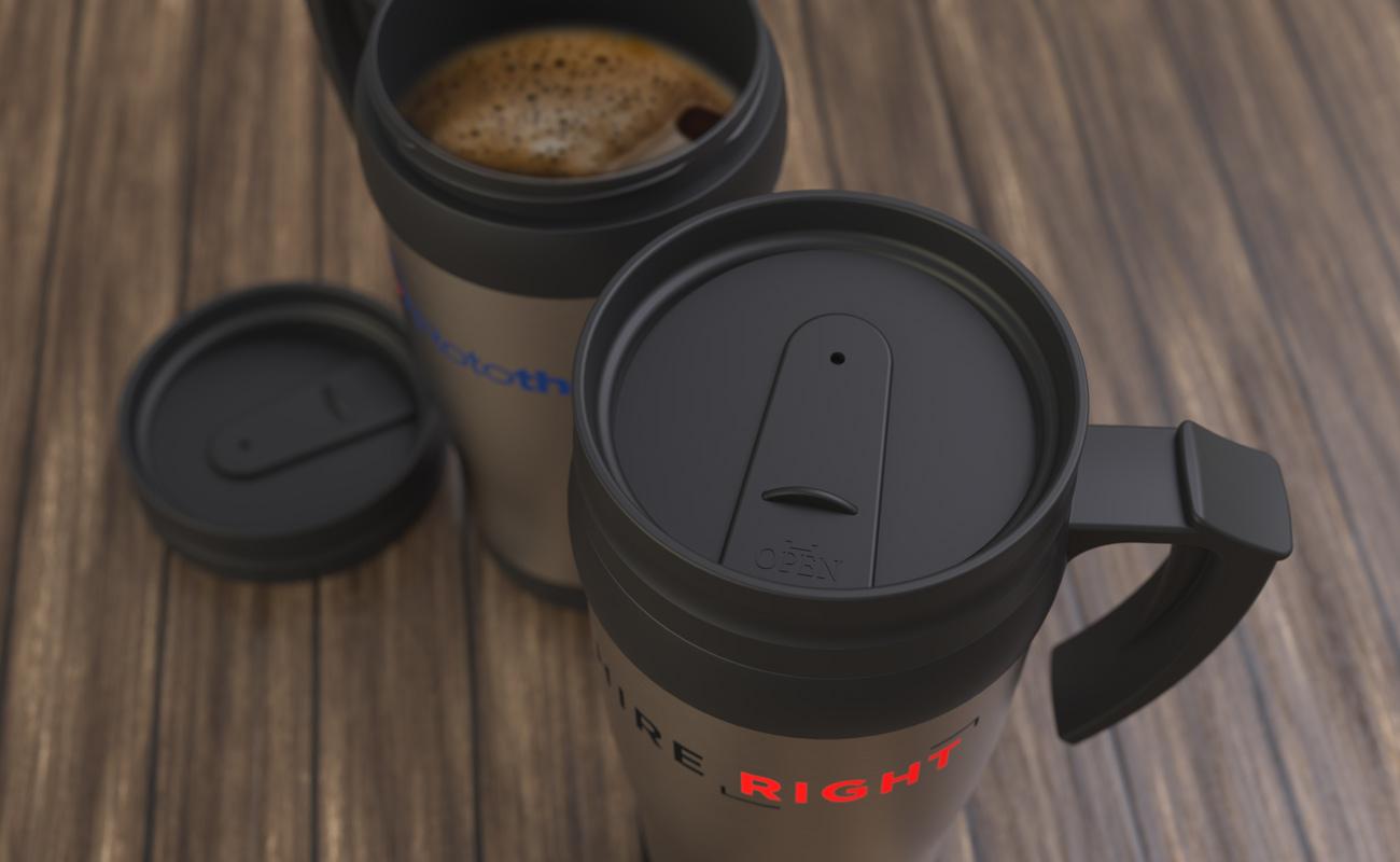 Thermo - Mug de voyage marqué