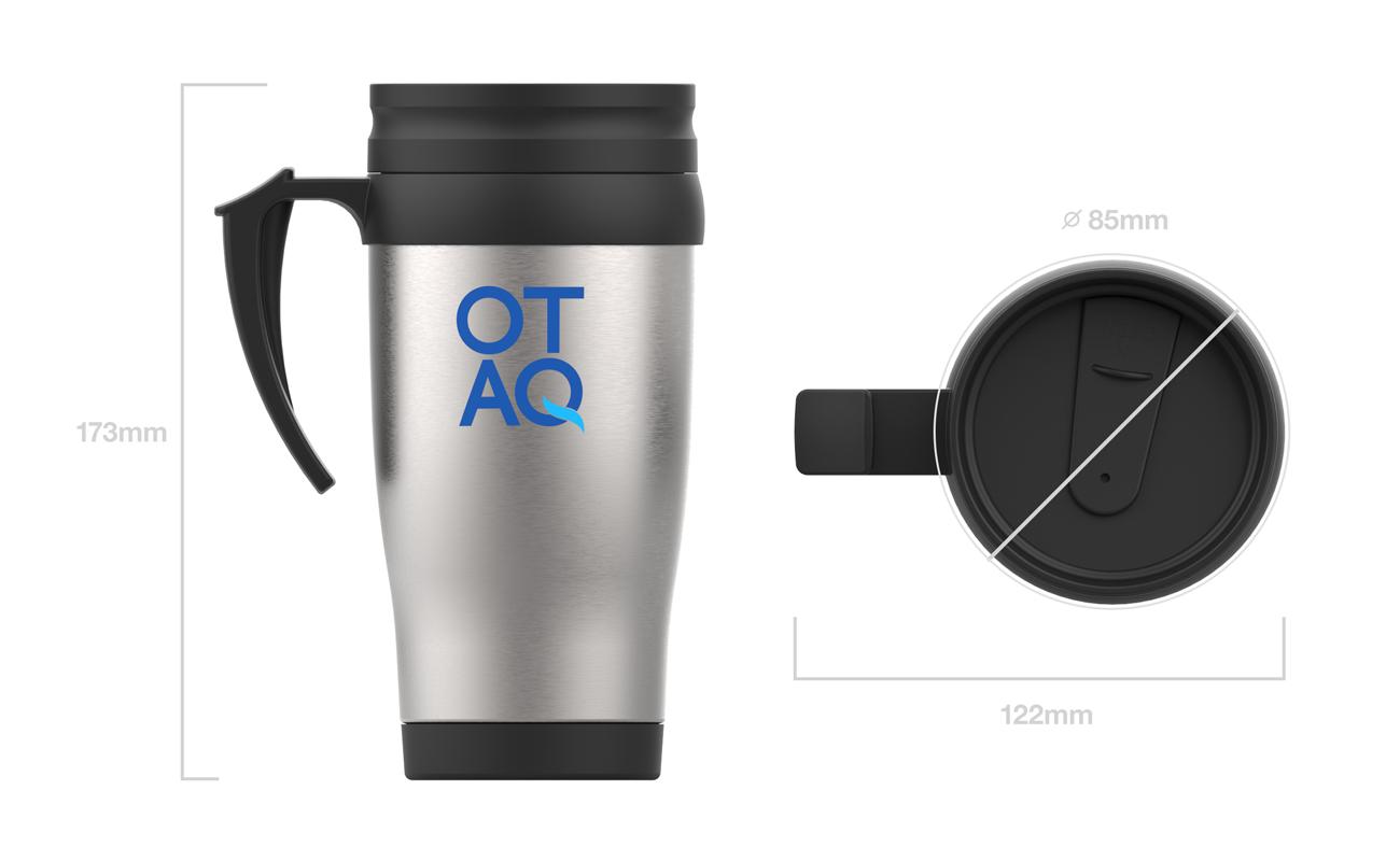 Thermo - Mug de voyage personnalisé